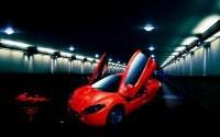Авто в туннеле