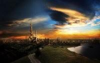 Восточный город