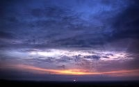 Закат за горизонтом