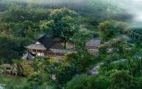 Азиатская деревня