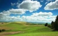 Поля и холмы