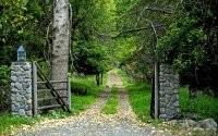 Ворота и дорожка