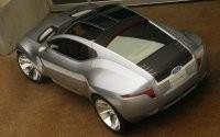 Серебристый Ford reflex