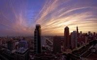 Небоскребы мегаполиса