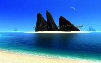 Острова на море