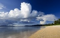 Чистый пляж