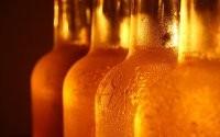 Капли на бутылках