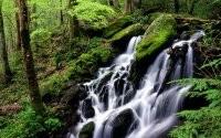 Спокойный водопадик