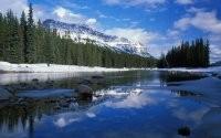 Ледяная корка на озере