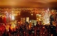 Яркий свет мегаполиса