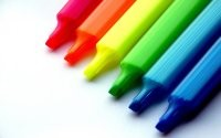 Разноцветные фломастеры