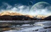 Планета на горизонте