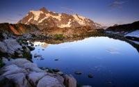 Водоем и гора