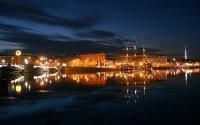 Ночные огни корабля