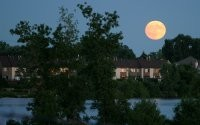 Луна над домом