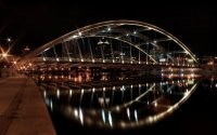 Мост с подсветкой