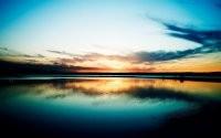Отражение заката