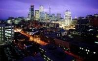 Ночные огни города