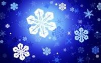 Рисованные снежинки