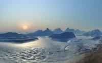 Закат на северном полюсе