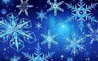 Разнообразные снежинки