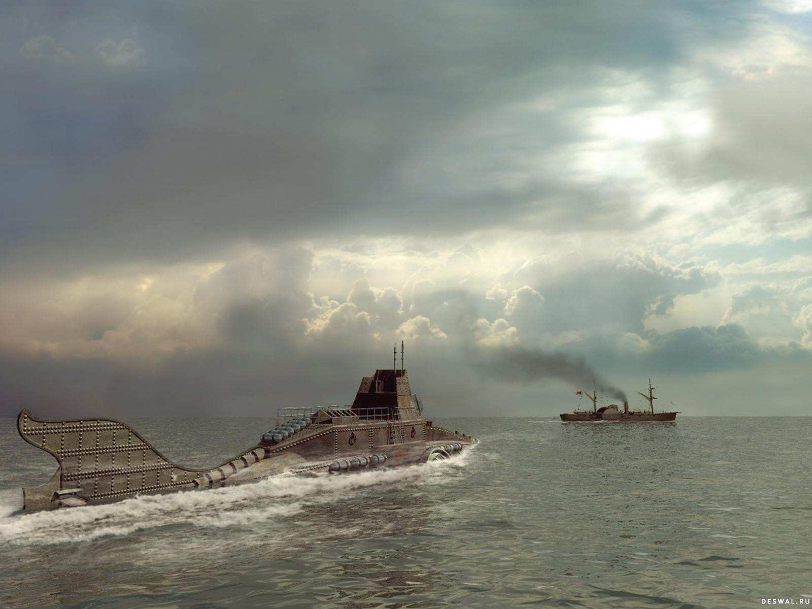 Подлодка «Наутилус» капитана Немо