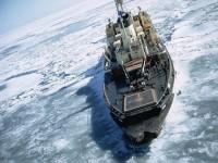 Ледоход, ледокол в Арктике