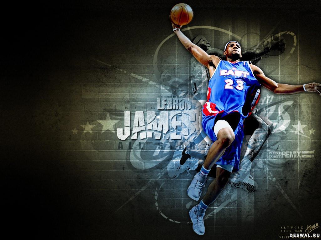 фотообои баскетбол: