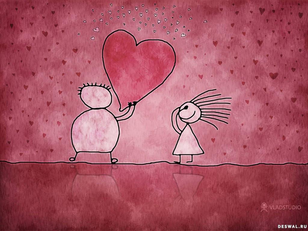 Нажмите на картинку с романтическими