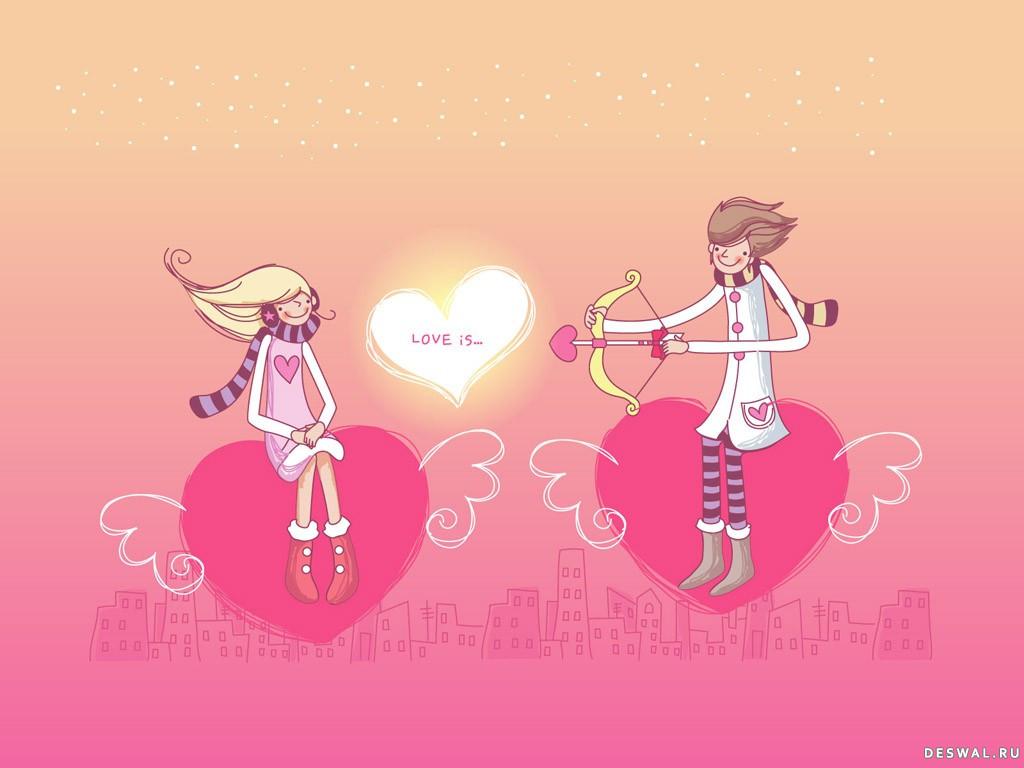 Фото 16. Нажмите на картинку с романтическими обоями - любовь, чтобы просмотреть ее в реальном размере
