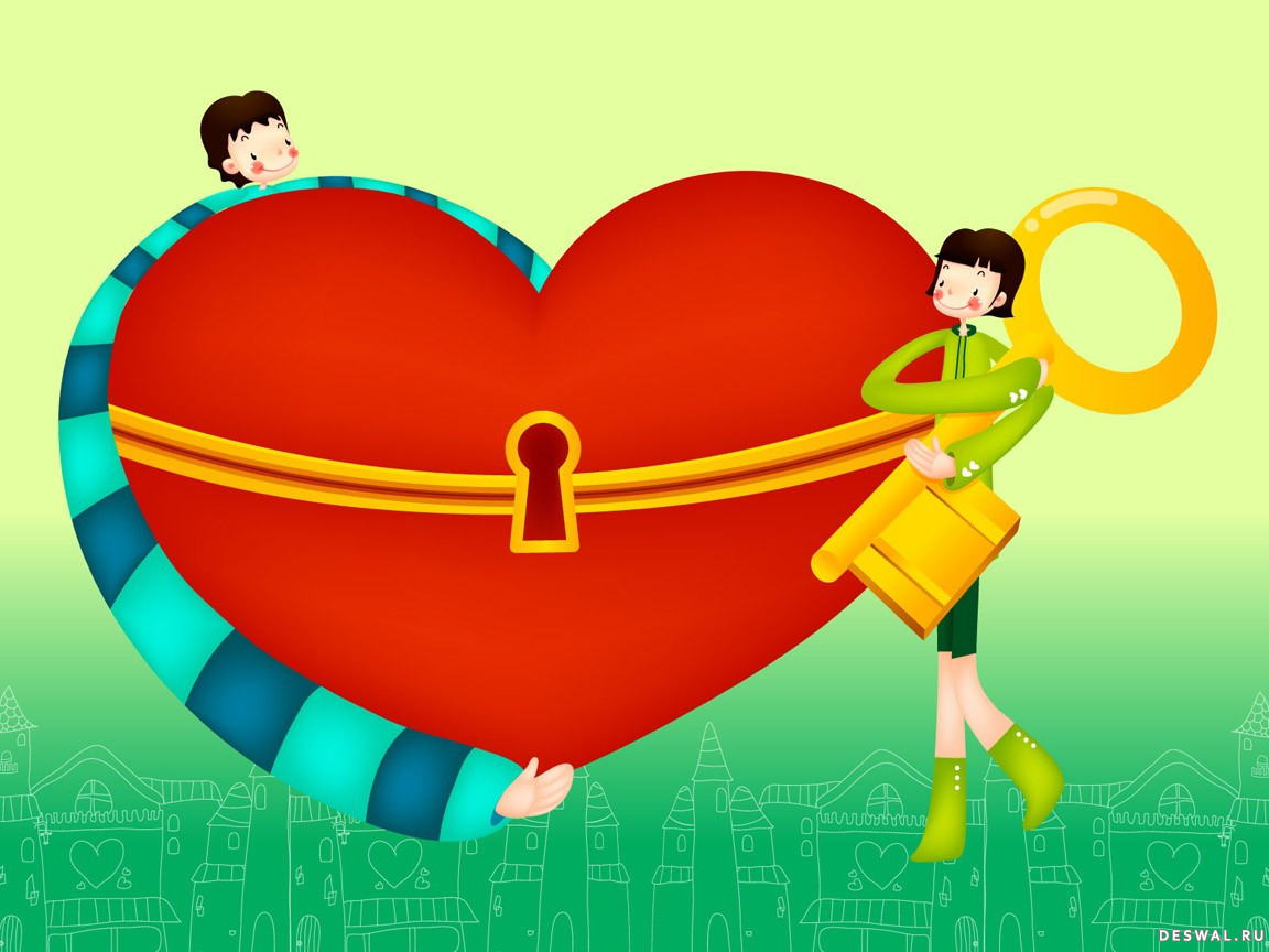 Фото 2. Нажмите на картинку с романтическими обоями - любовь, чтобы просмотреть ее в реальном размере