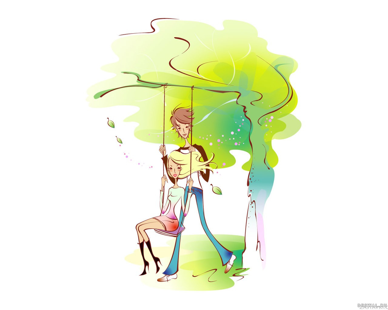 Фото 9. Нажмите на картинку с романтическими обоями - любовь, чтобы просмотреть ее в реальном размере