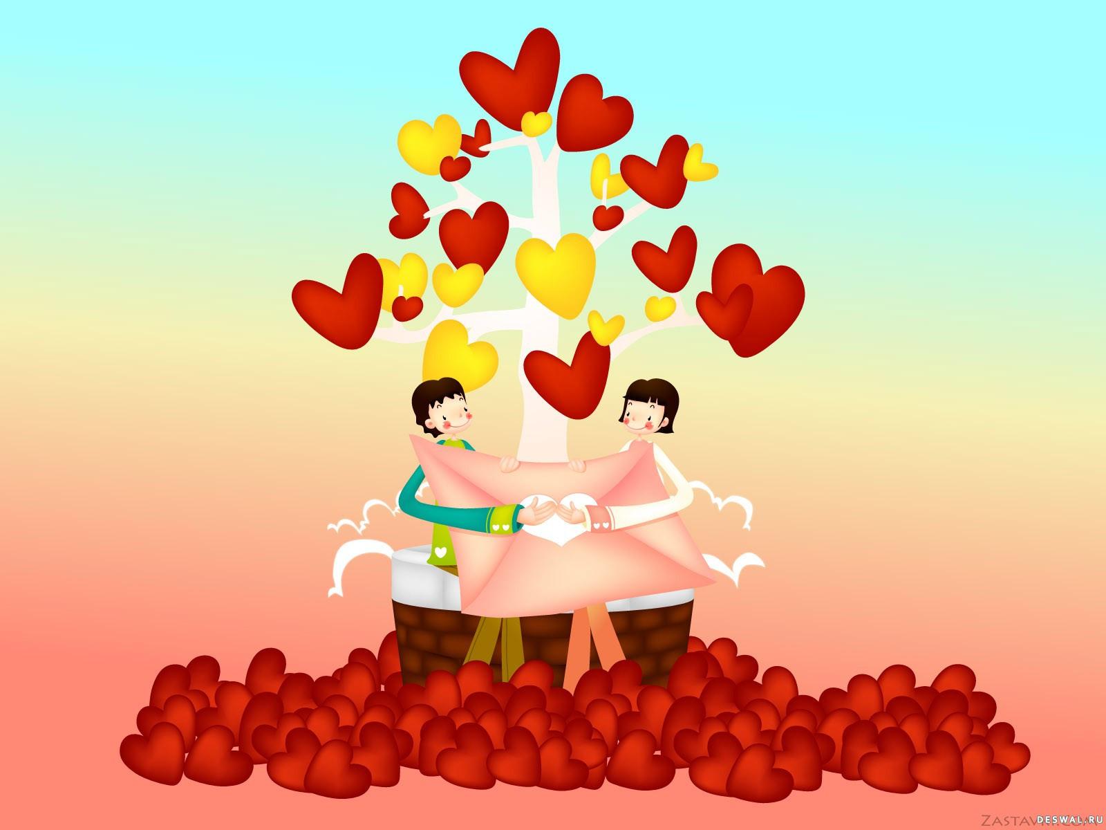 Фото 41. Нажмите на картинку с романтическими обоями - любовь, чтобы просмотреть ее в реальном размере