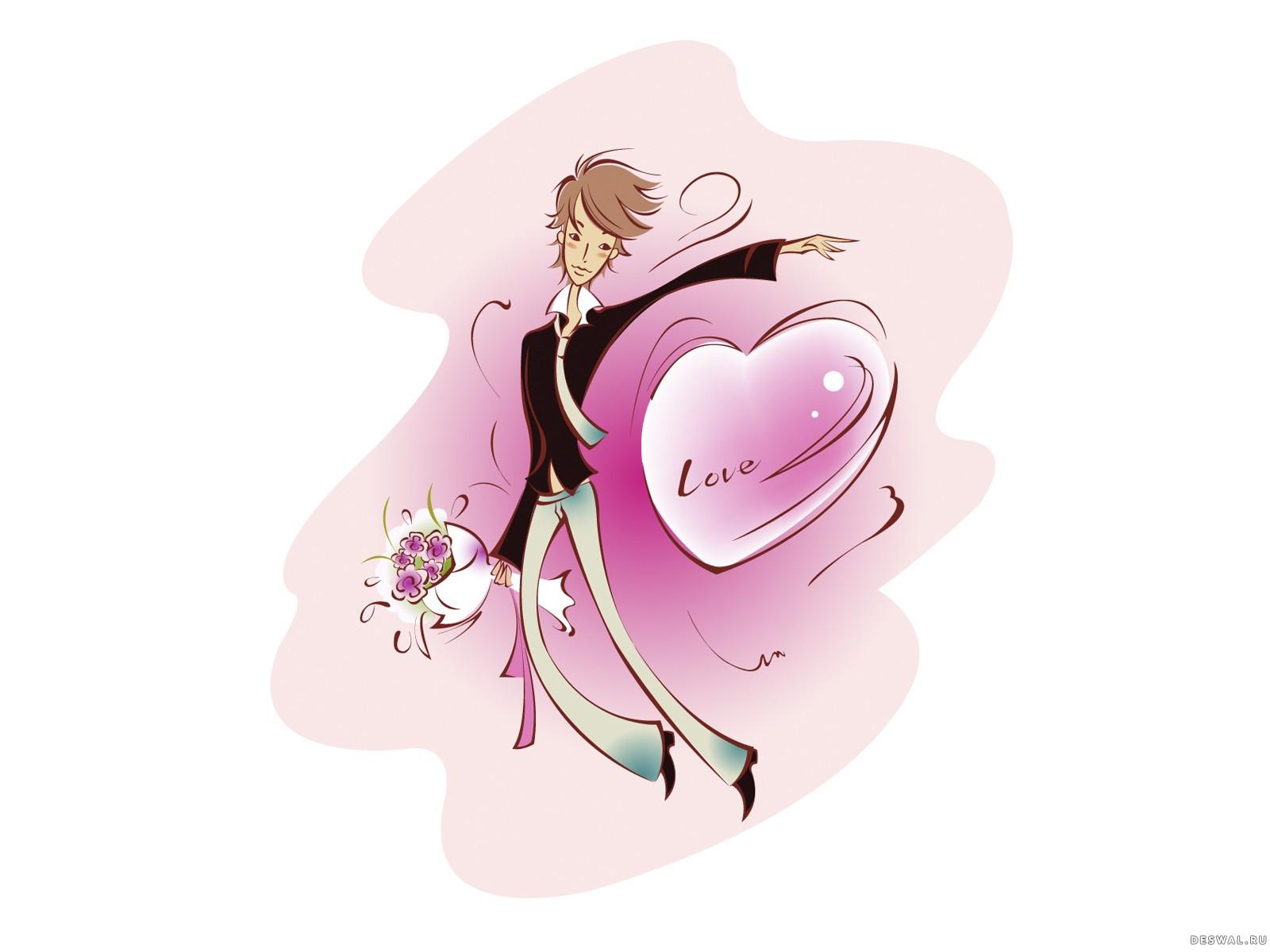 Фото 76. Нажмите на картинку с романтическими обоями - любовь, чтобы просмотреть ее в реальном размере