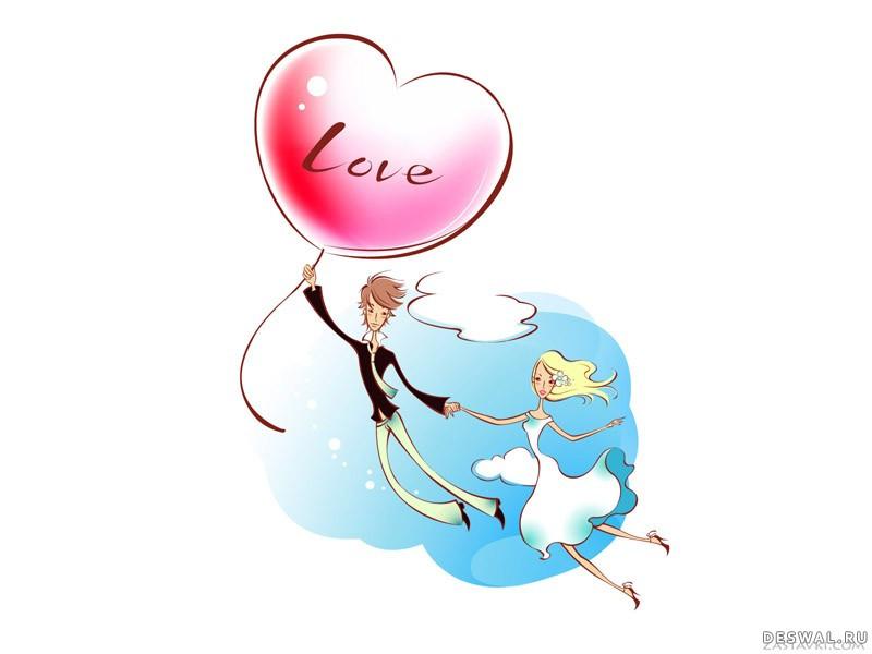 Фото 8. Нажмите на картинку с романтическими обоями - любовь, чтобы просмотреть ее в реальном размере