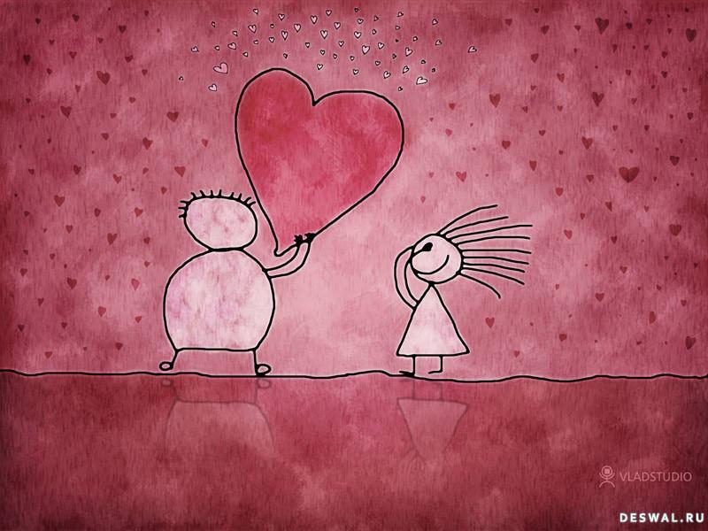 Фото 11. Нажмите на картинку с романтическими обоями - любовь, чтобы просмотреть ее в реальном размере