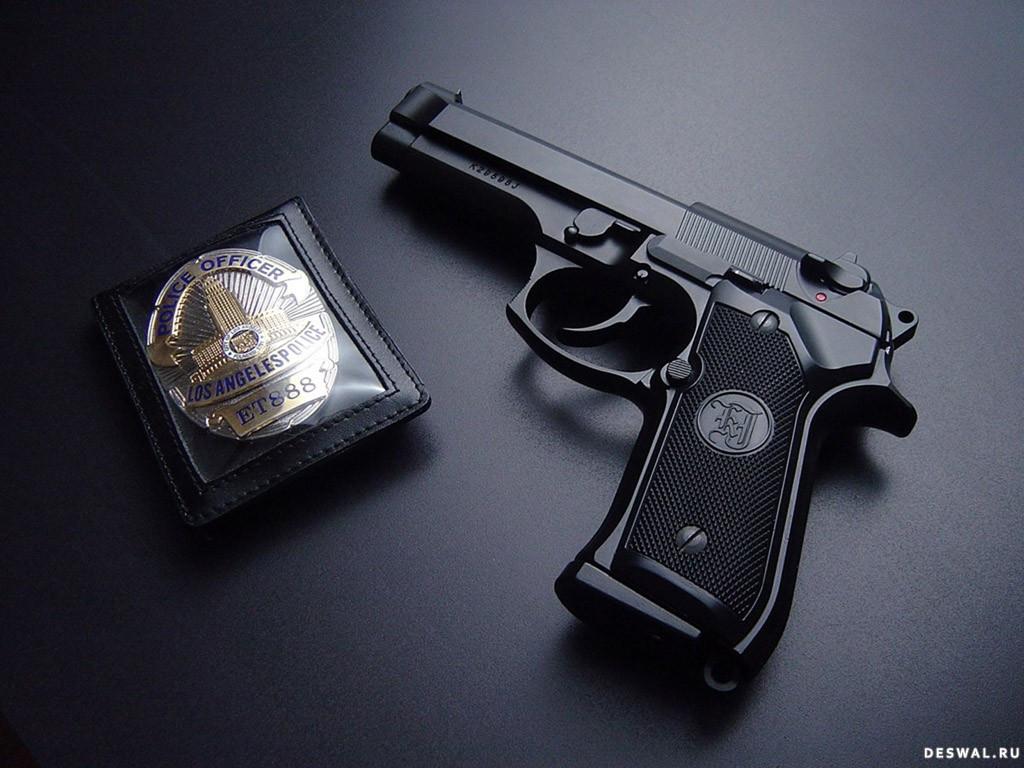 Бесплатные обои с оружием на рабочий