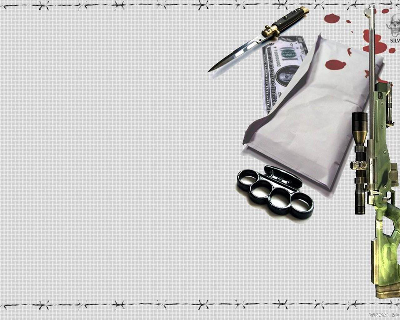 Фото 25. Нажмите на картинку с обоями оружия, чтобы просмотреть ее в реальном размере