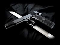 Фото 2. Обои для рабочего стола: обои с оружием