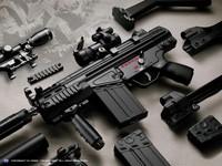 Фото 73. Обои для рабочего стола: обои с оружием