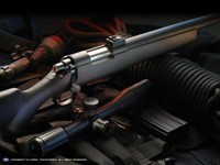 Фото 74. Обои для рабочего стола: обои с оружием
