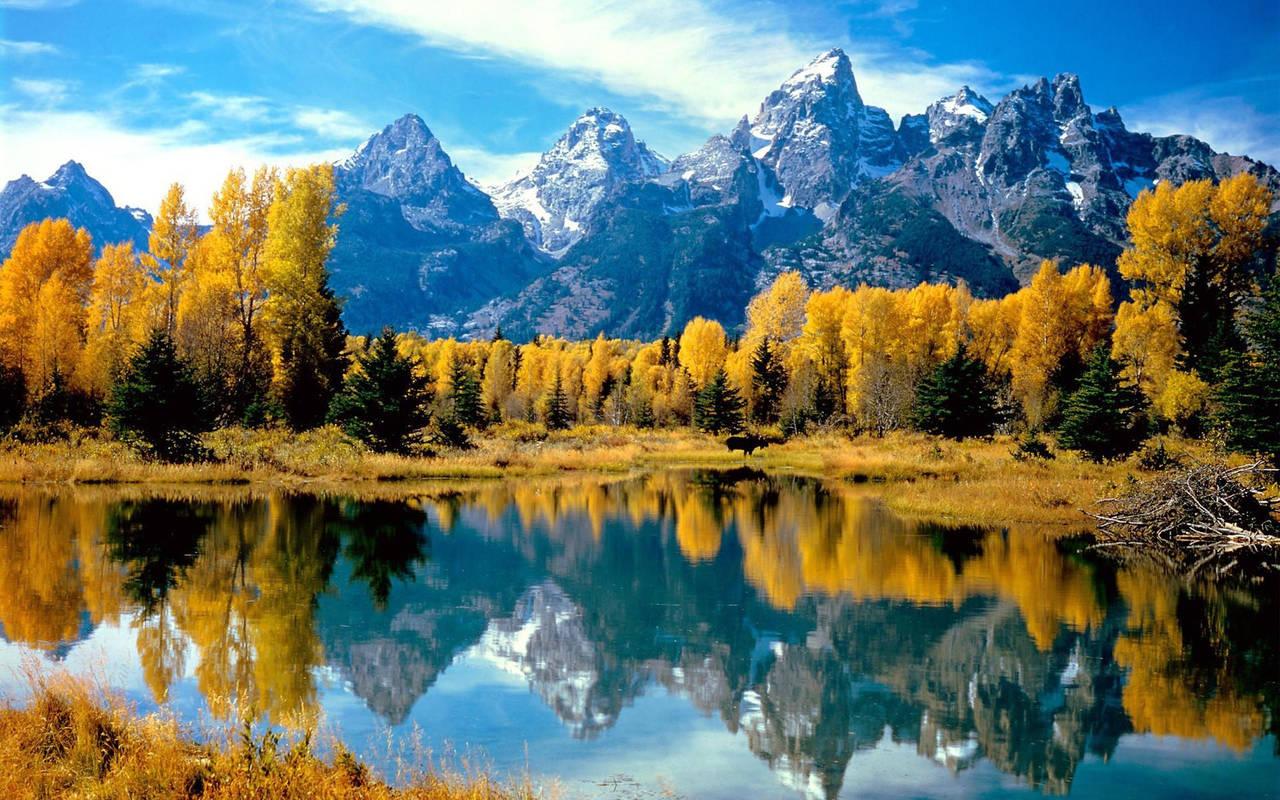 Осень на озере нажмите на картинку с