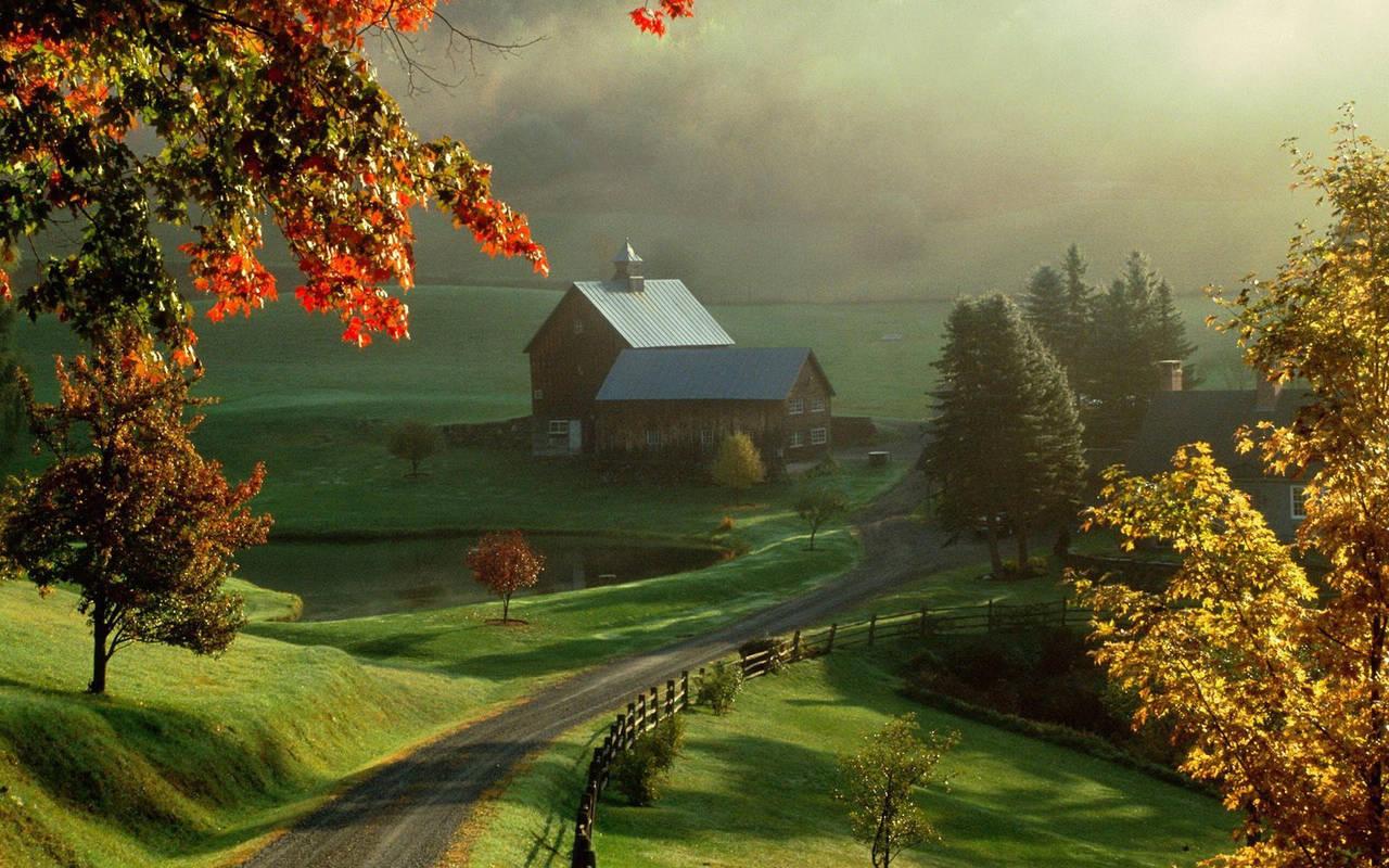 Осень в деревне нажмите на картинку с