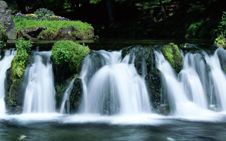 обои для рабочего стола водопады: