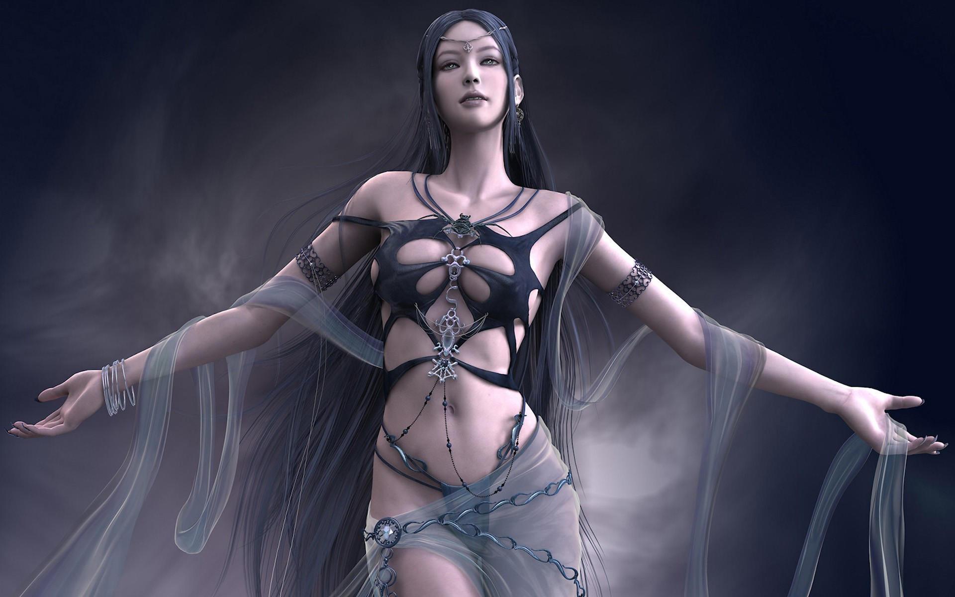 Девушка из фэнтези