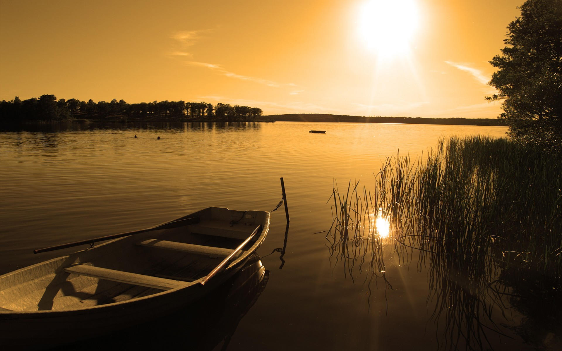 Пустая лодка