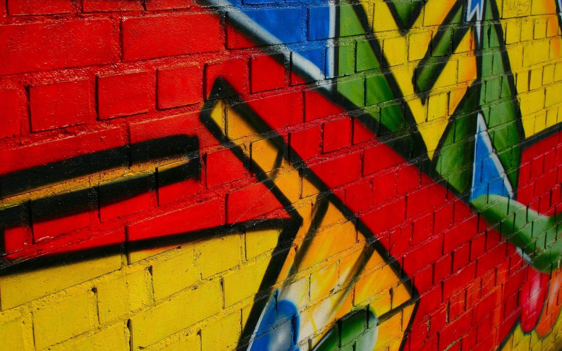 Граффити на стене нажмите на картинку